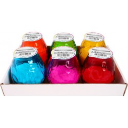 Party Time candle small, pack of 6 pieces