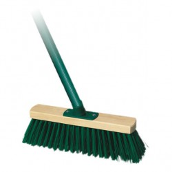 A broom for sweeping streets with a handle collective packaging 40 pieces