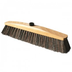 A broom with natural bristles, collective packaging 20 pieces
