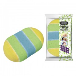 Massage sponge 1 piece YORK PRESTIGE collective packaging 30 pieces