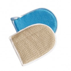 Sisal bathing mitt, collective packaging 24 pieces