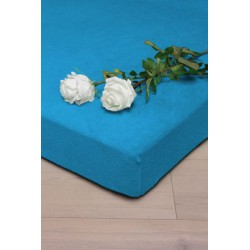 Fitted sheet with an elastic band Satin - Dark Colors