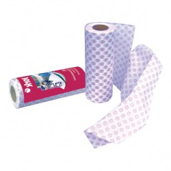 Kitchen cloths on a roll, 40 pcs. - collective packaging, cardboard box 24 pcs