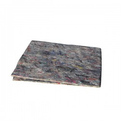 Gray floor cloths 1 pc. AZUR - collective packaging 30 pcs