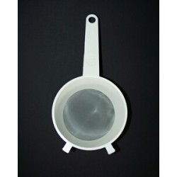 """Strainer Ø 150 dense for milk, """"deep"""" collective packaging 50 pieces"""