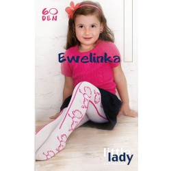 CHILDREN'S TIGHTS '' EWELINKA '' 60 DEN, collective packaging 5 pieces