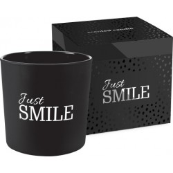 Scented candle in frosted glass with two wicks, pack of 6 pieces
