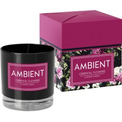 Ambient scented candle in glass, pack of 6 pieces