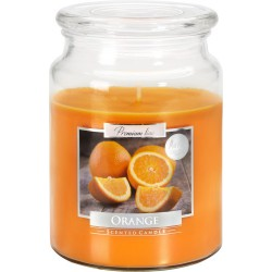 Scented candle in a large glass with a lid, pack of 6 pieces