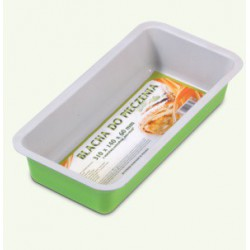 Green and gray non-stick baking tray, pack of 6