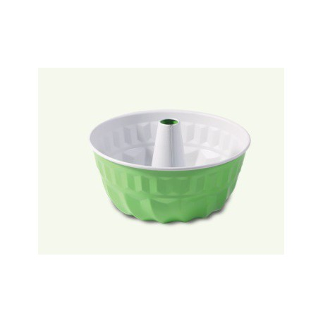 Mold with green-gray non-stick coating, pack of 6