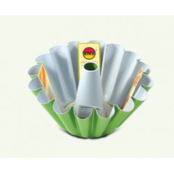 Fitting with a sleeve with a non-stick protective layer, pack of 6