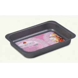 Non-stick gray baking tray (embossed), pack of 10