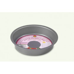 Round, non-stick, gray shape, pack of 10