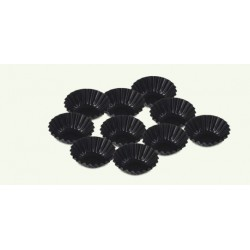 """Mold with a """"non-stick"""" protective layer, black, pack of 30 sets"""